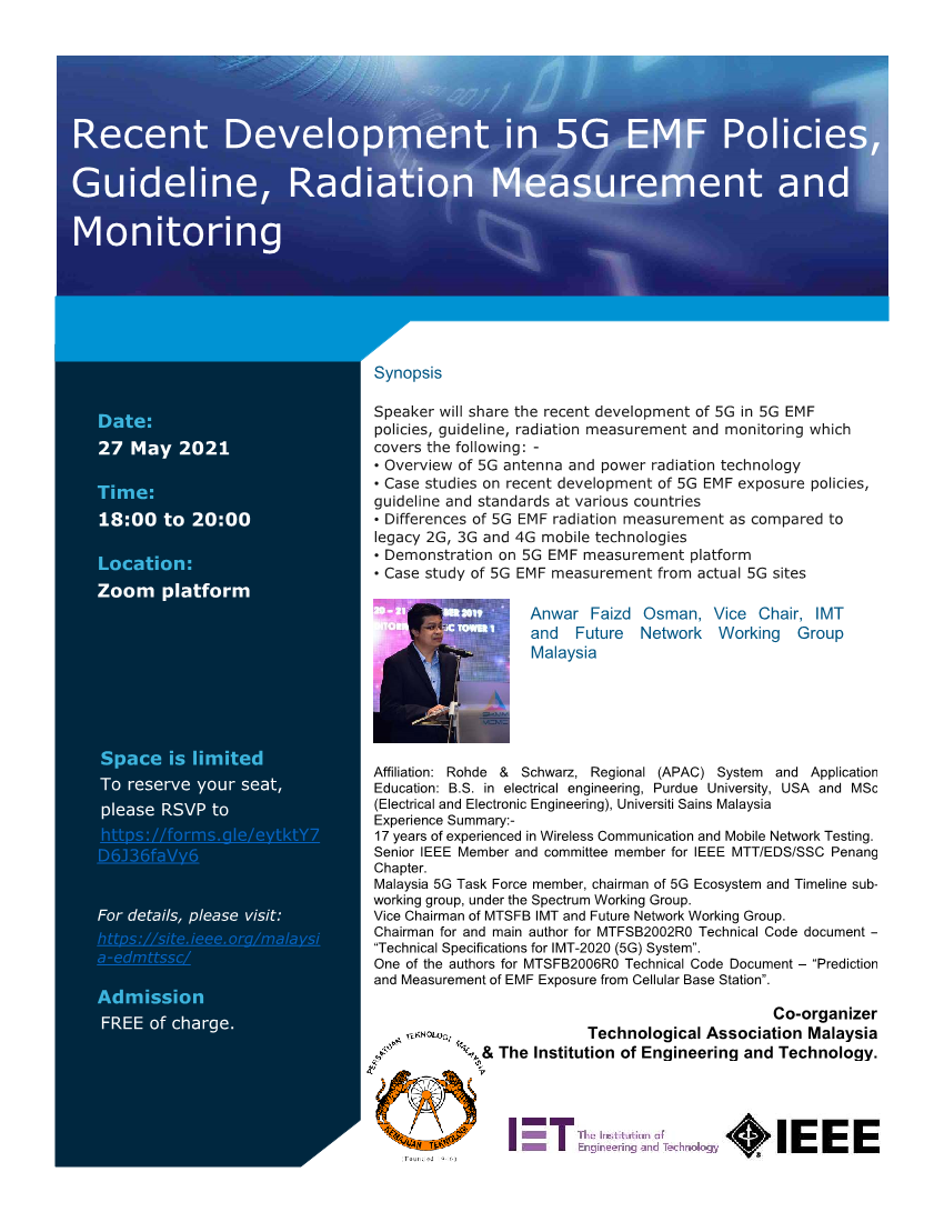 Recent Development in 5G EMF Policies, Guideline, Radiation Measurement and Monitoring